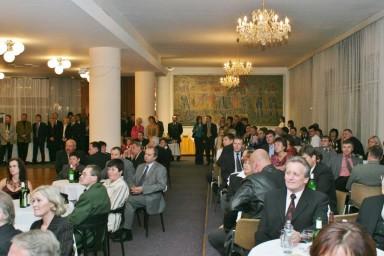 Projekční kancelář Centroprojekt oslavila 80 let své historie.