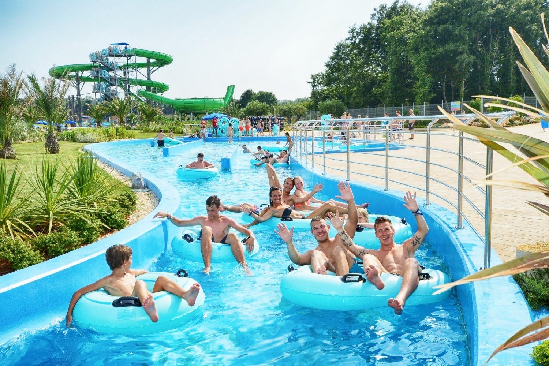 Croatia - The Aquacolors Water Park in Porec
