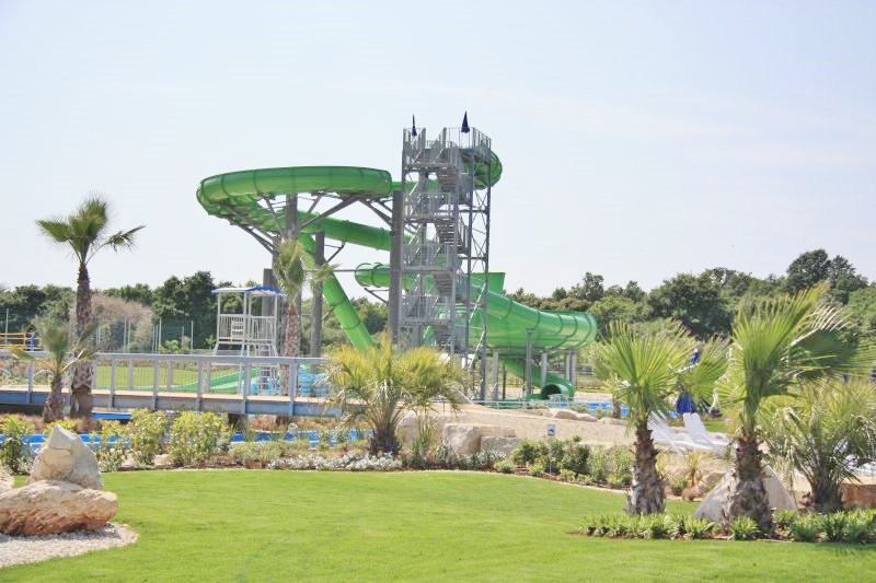 Projekt bazénových technologií pro aquapark Aquacolors Poreč v Chorvatsku realizoval CENTROPROJEKT