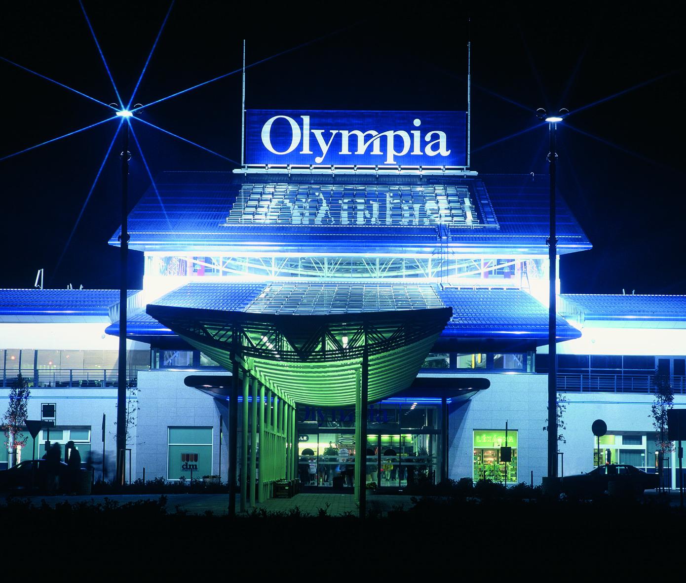 Projekt nákupního centra Olympia Brno připravila projekční kancelář Centroprojekt