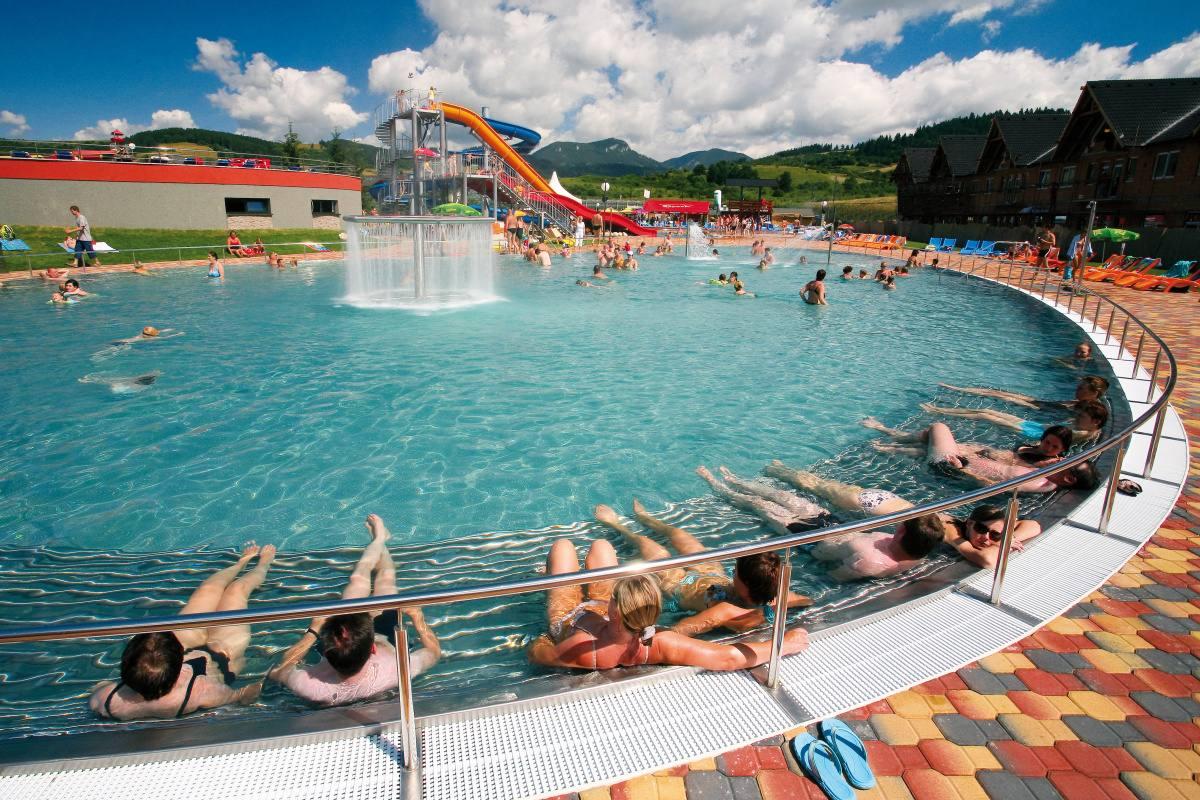 Bazénové technologie pro Gino Paradise v Bešeňové na Slovensku