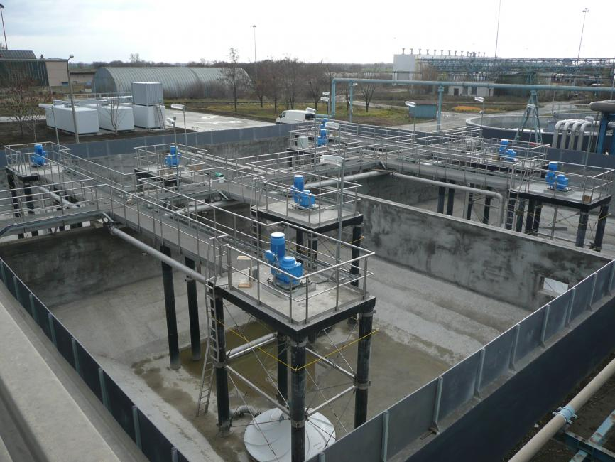 Invent: Supply of Mixers for the Duslo WWTP in Šaľa