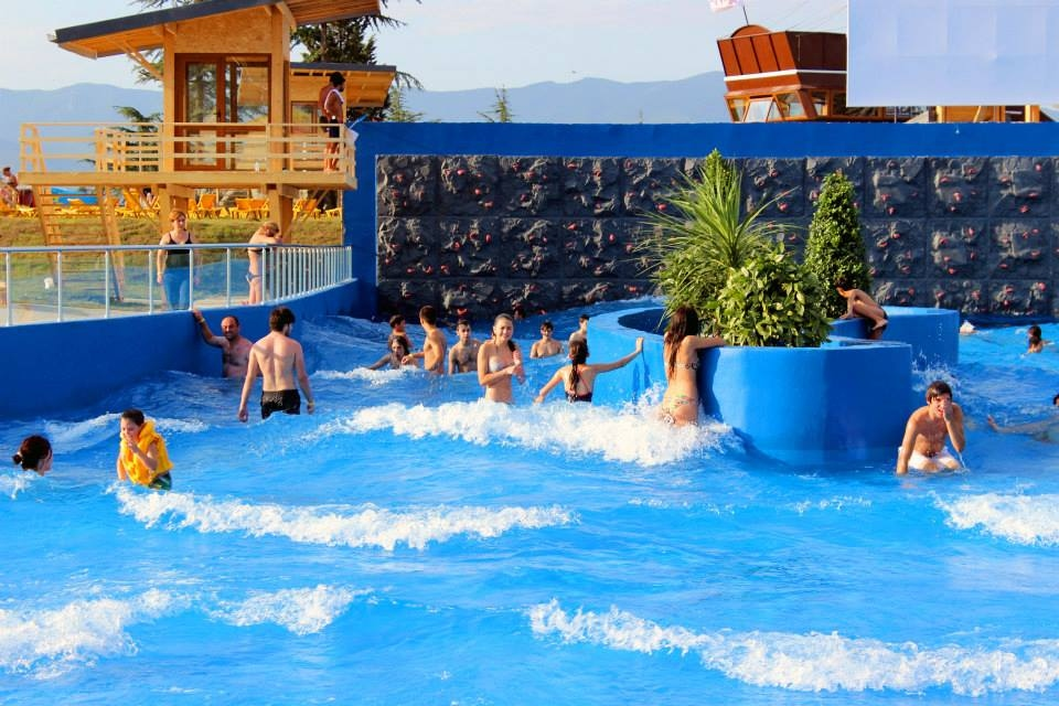 Georgia - The GINO Paradise Water Park in Tbilisi