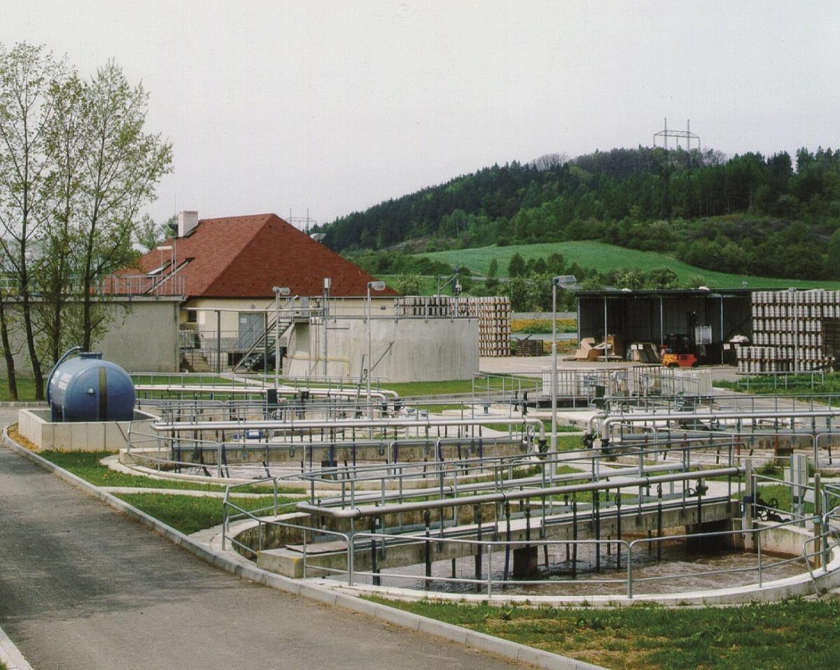 Projekt intenzifikace ČOV pivovaru v Krušovicích