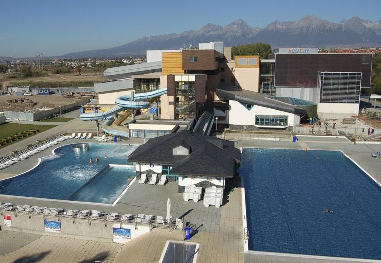 Projekt bazénovej technologie v Aquacity Poprad