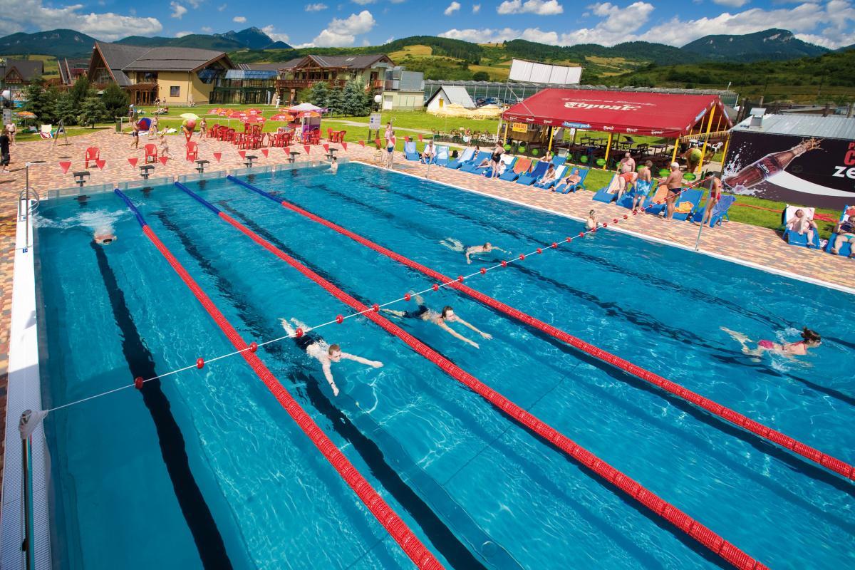 Slovakia - The GINO PARADISE Water Park in Bešeňová