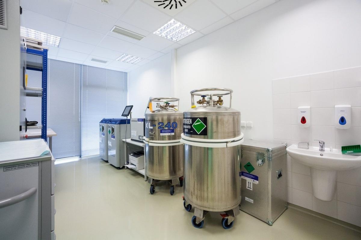 Tkáňové laboratoře pro NEXT-M v Brně