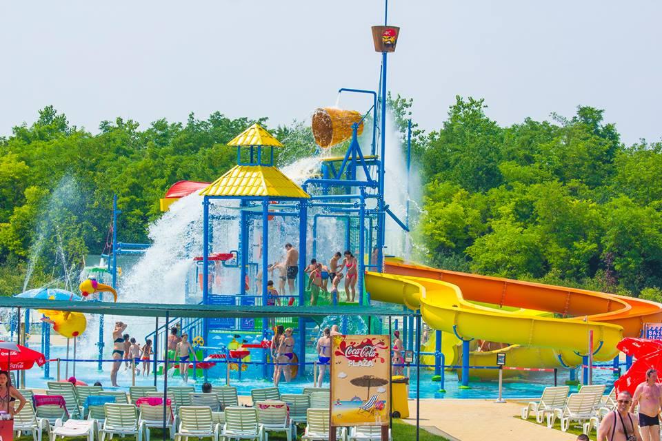 Bački Petrovac Water Park in Serbia