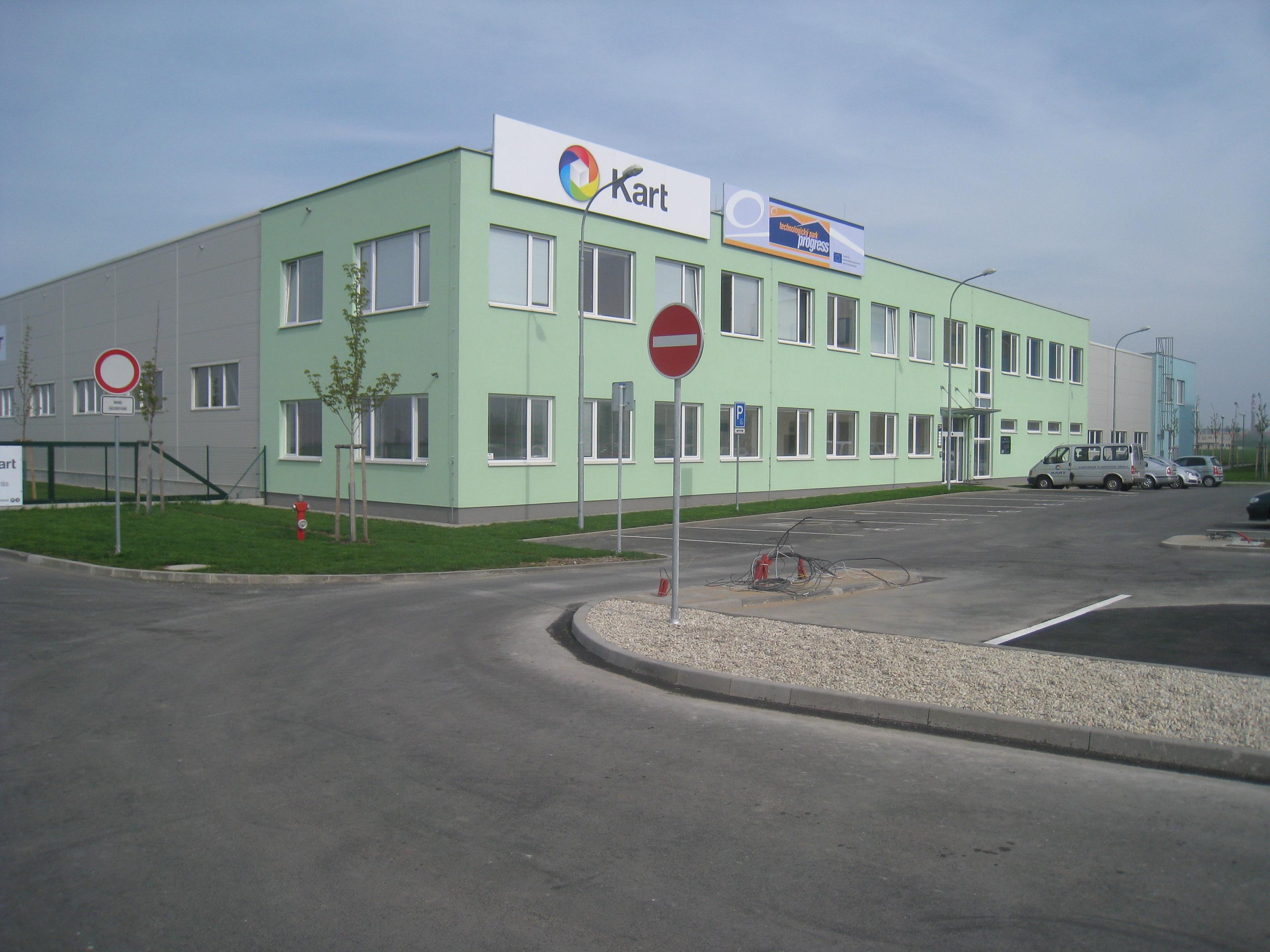 Technologický park v rámci průmyslové zóny Holešov projektoval zlínský Centroprojekt