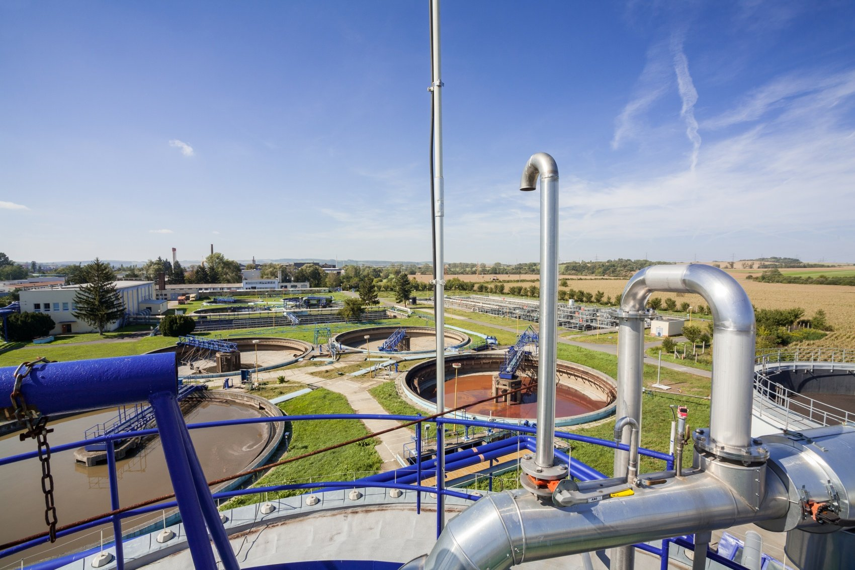 Rehabilitation and Extension of the Zlín-Malenovice Wastewater Treatment Plant