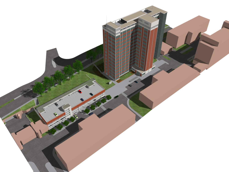 "Conversion of the ""Bata's Skyscraper"", the Administrative Building No. 21 of the Bata Factory"