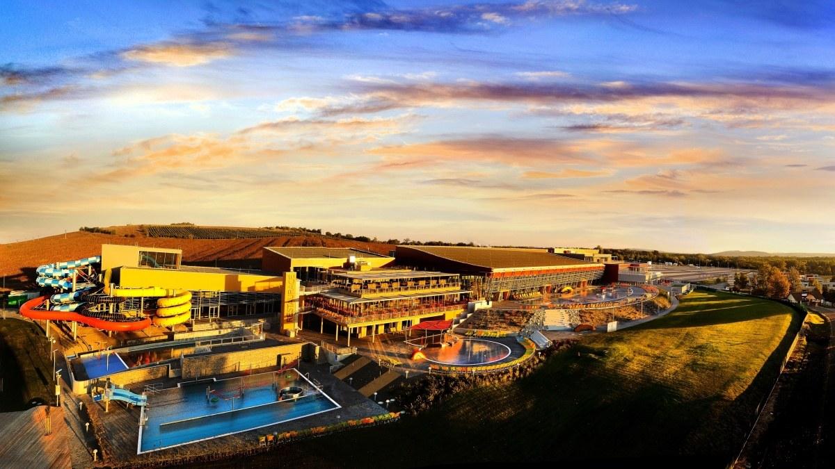 Projekt bazénových technologií pro Aqualand Moravia Pasohlávky připravila společnost CENTROPROJEKT