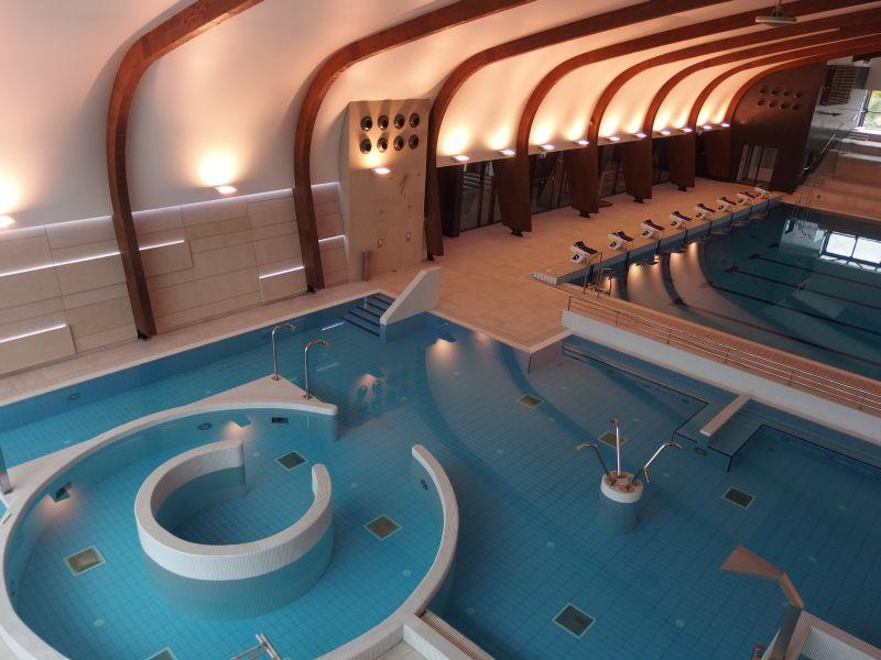 Dodávka a montáž bazénových technologií, chlorovny a vytápění bazénů pro Aqua aréna Šamorín