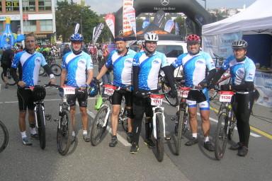 Tým Centroprojektu se zúčastnil cyklomaratonu ve Zlíně
