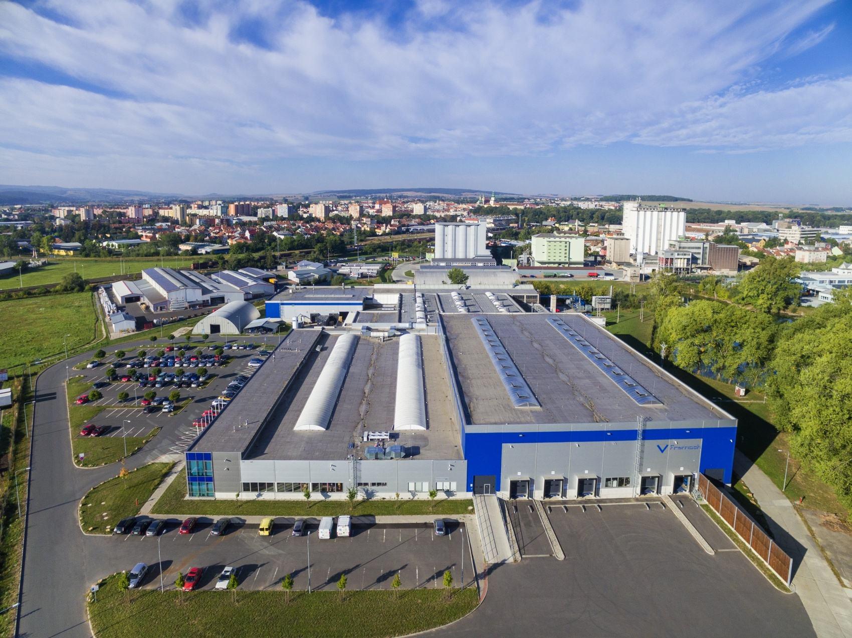 Projekt dostavby průmyslového areálu Fremach Kroměříž - CENTROPROJEKT GROUP