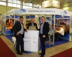 Mezinárodního stavebního veletrhu CONECO 2015 se zúčastnila také společnost CENTROPROJEKT GROUP