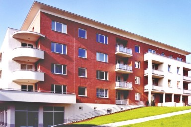 Projekt bytového domu realizovala zlínská společnost CENTROPROJEKT GROUP