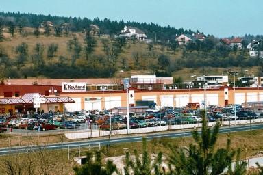 Projekt nákupního centra a Kauflandu ve Zlíně na Vršavě
