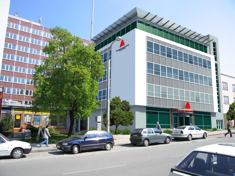 Projekt rekonstrukce administrativní budovy VZP ve Zlíně připravil Centroprojekt