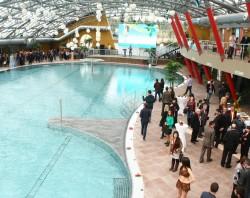 Výstavba aquaparku podle návrhu Centroprojektu v Tbilisi, Gruzie dokončena