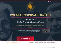 Konference 120 let inspirace Baťou