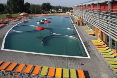 Projekt aquaparku Aqualand Moravia Pasohlávky připravila společnost CENTROPROJEKT