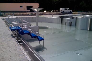 Rekontrukci koupaliště včetně instalace nových atrakcí navrhla divize aquaparků společnosti Centroprojekt