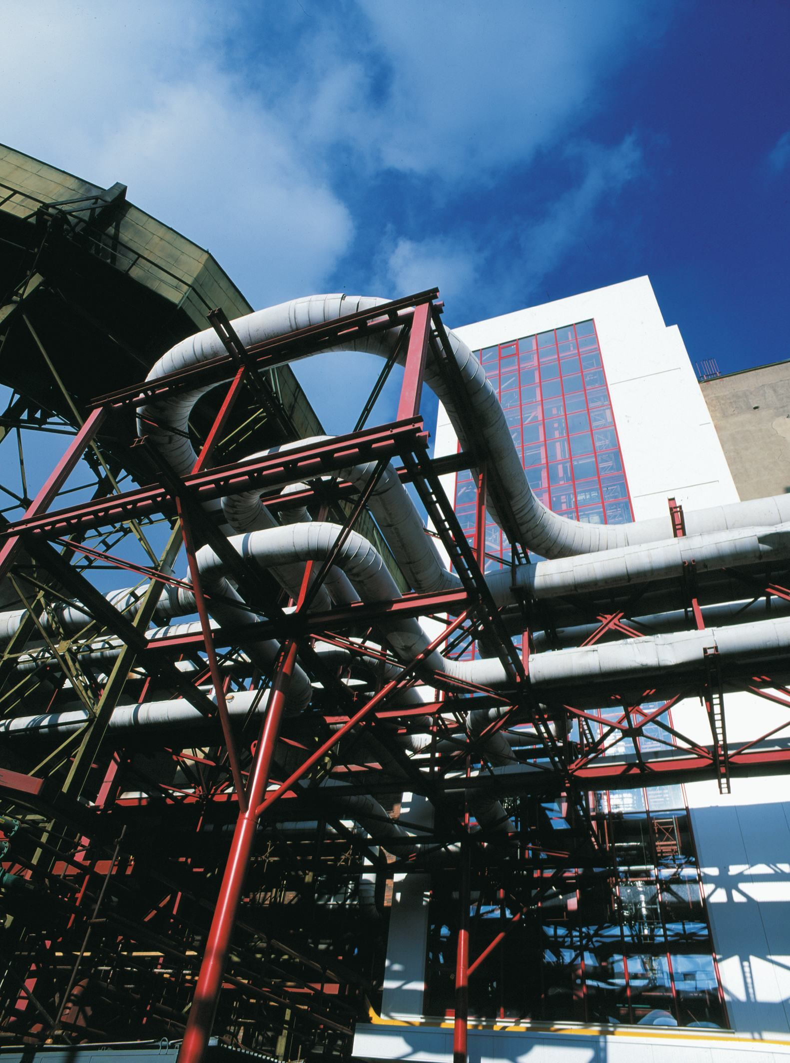 Project description: Energy project for a combined generation of heat and power.