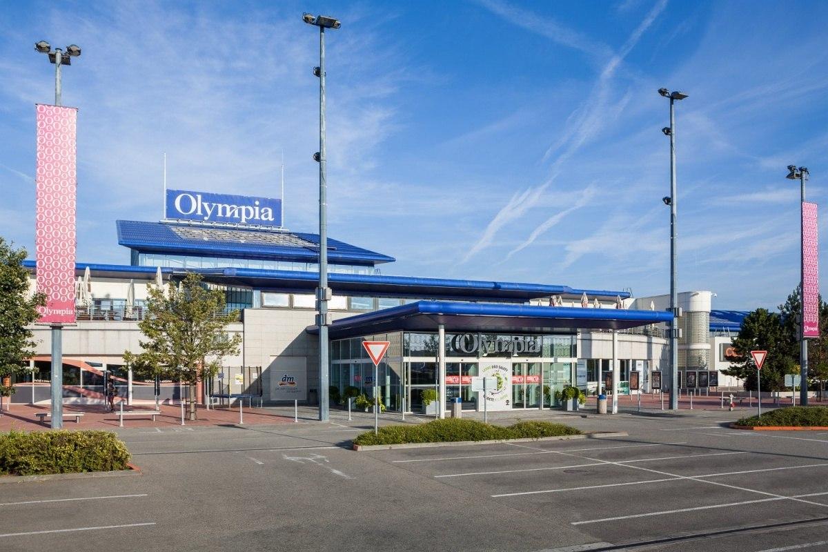 Projekt dopravního napojení a areálových komunikací Olympia Brno - Centroprojekt