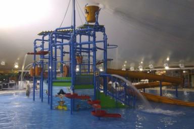Slatnostní otevření aquaparku Thermalpark Bešeňová podle projektu firmy CENTROPROJEKT