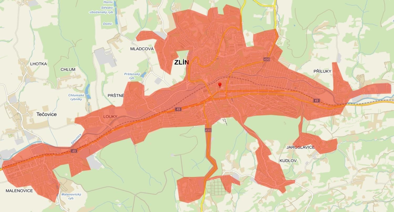 CENTROPROJEKT zpracoval generel kanalizace města Zlín pro VaK Zlín a.s.