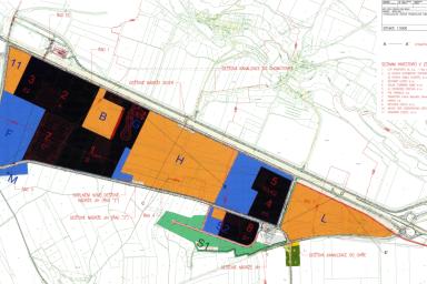 Hydrologické řešení průmyslové zóny Triangle Žatci připravila projekční kancelář CENTROPROJEKT