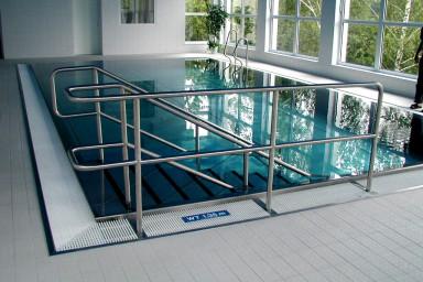 Přístavba rehabilitačního bazénu Hubert v Luhačovicích podle návrhu CENTROPROJEKTu