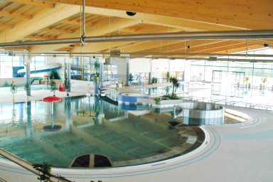Projekt aquaparku Aquadrom v Mostě připravil CENTROPROJEKT GROUP a.s.