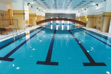 Pro aquapark vojenské zotavovny Měřín byl CENTROPROJEKT dodavatelem bazénových technologií