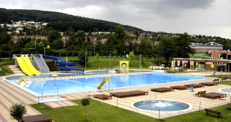 Projekt i realizaci koupaliště Zelené ve Zlíně připravila společnost CENTROPROJEKT