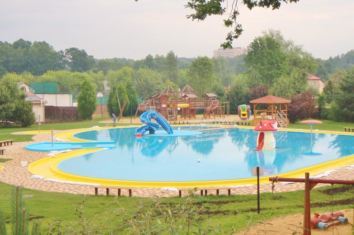Projekt koupaliště a dětského bazénu v Ostravě-Porubě