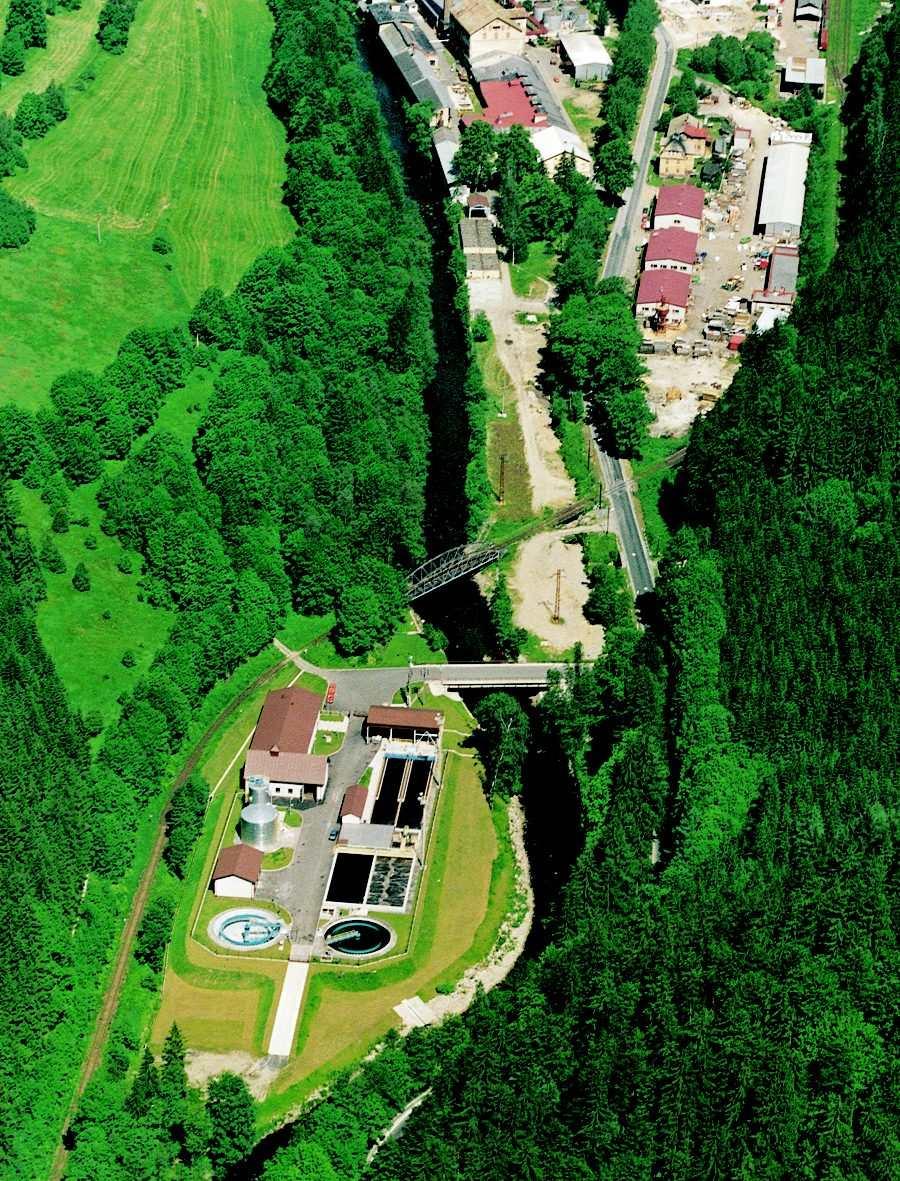 Combined WWTP in Jablonec nad Jizerou
