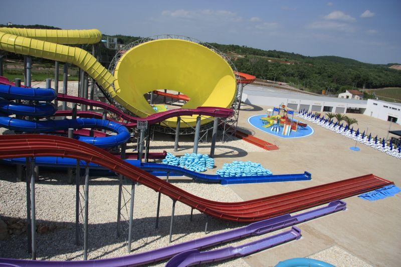 Projekt aquaparku Aquacolors Poreč v Chorvatsku realizoval CENTROPROJEKT