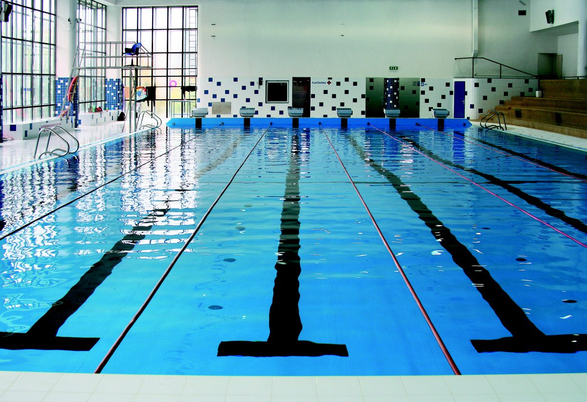 Rekonstrukce městského 25m bazénu Zlín CENTROPROJEKT