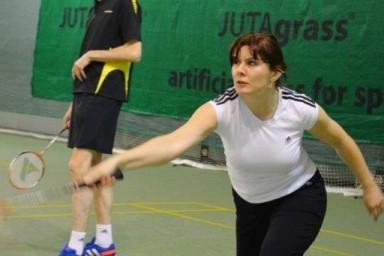Badmintonový turnaj Opeřený míček pro zaměstnance CENTROPROJEKTu