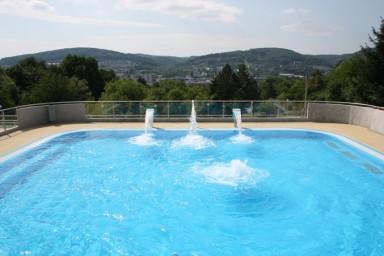 Projekt zlínského koupaliště Panorama na sídlišti Jižní Svahy