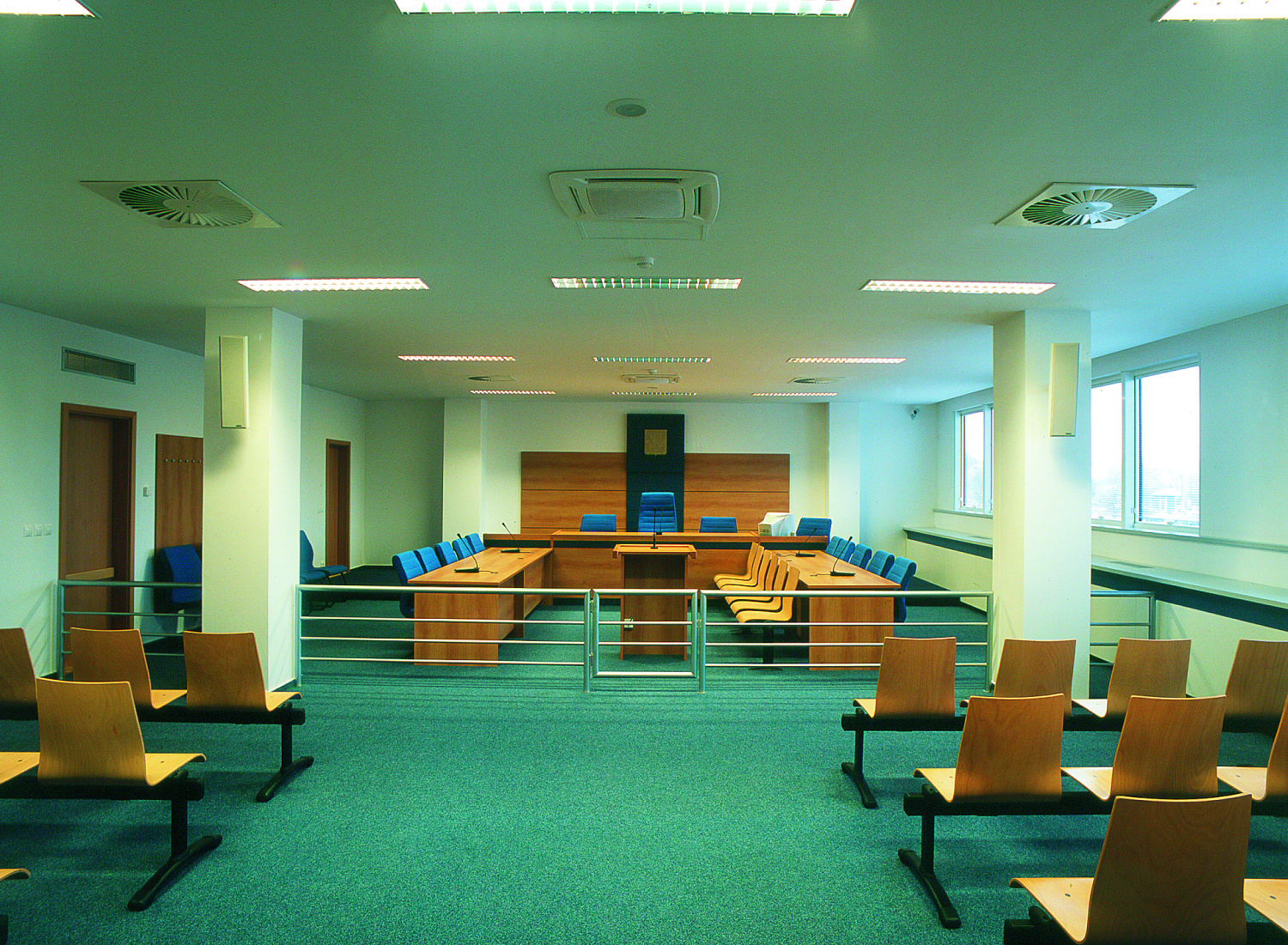 Building Conversion to the District Court Offices