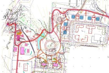Projekt Centrálního parku ve Zlíně na Jižních Svazích