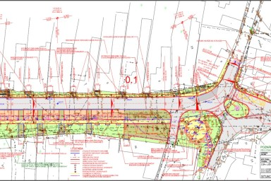 Projekt úpravy návsi zlínské části Lužkovice připravil CENTROPROJEKT GROUP