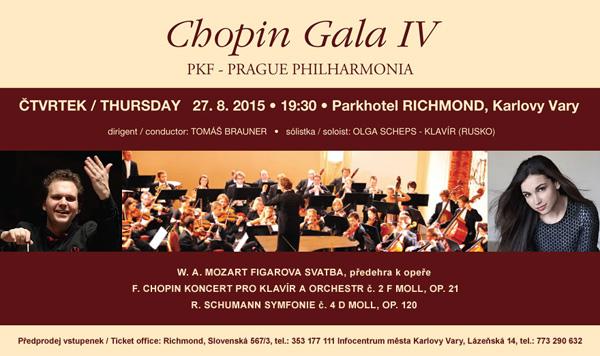 Chopin Gala IV - Slavnostní Chopinův galakoncert se sólistkou Ogou Scheps podpořil Centroprojekt