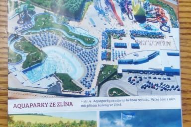 Na titulní stránce je fotka aquaparku Aquacolors v chorvatské Poreči, kam jsme dodávali bazénové technologie.