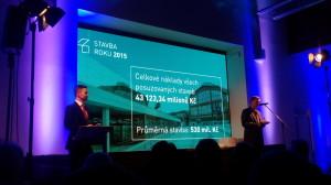 Momentky z nominačního večera soutěže Stavba roku 2015 České republiky