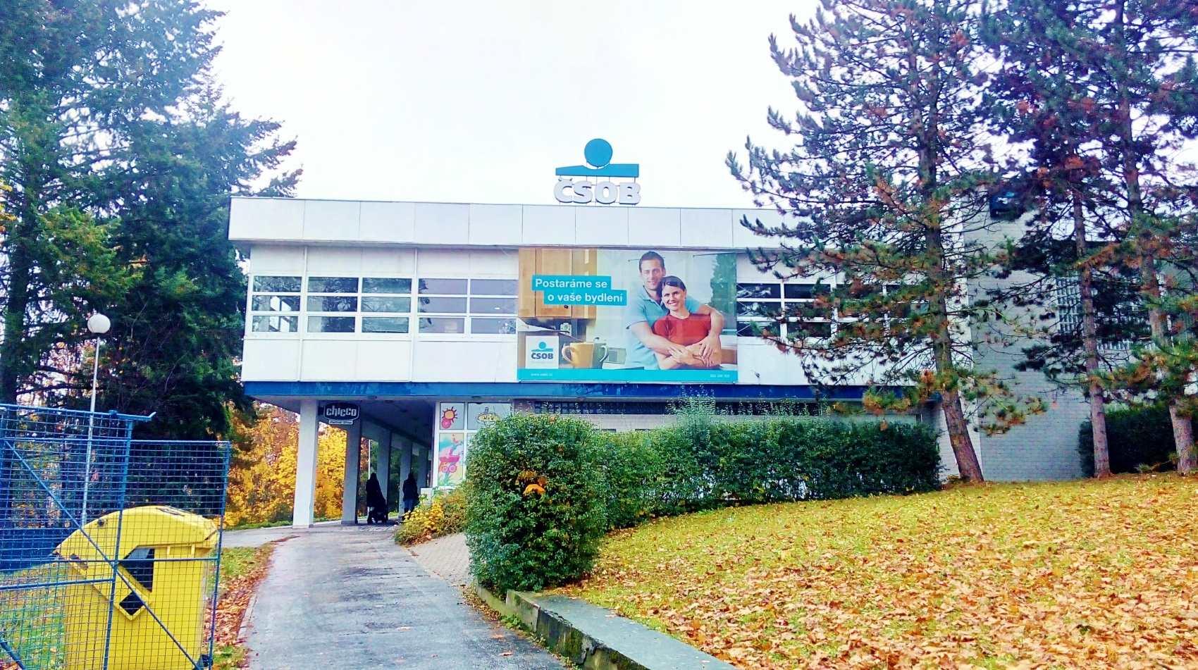 Budova banky ČSOB ve Zlíně