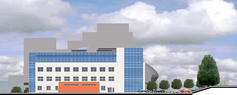 Projekt rekonstrukce objektu okresního soudu v Mostě připravil Centroprojekt ze Zlína